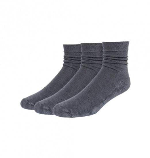 Bamboe sokken grijs - S12