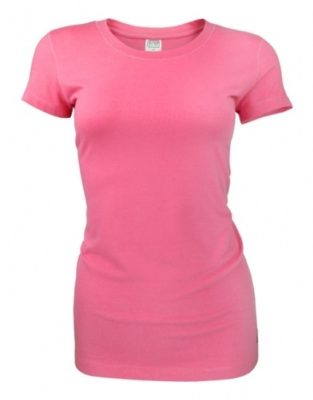 Bamboe dames t-shirt Coral