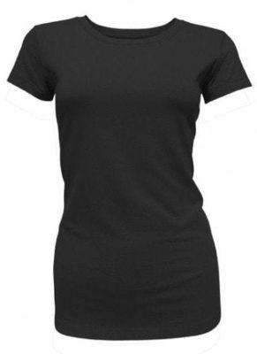 Bamboe dames t-shirt zwart