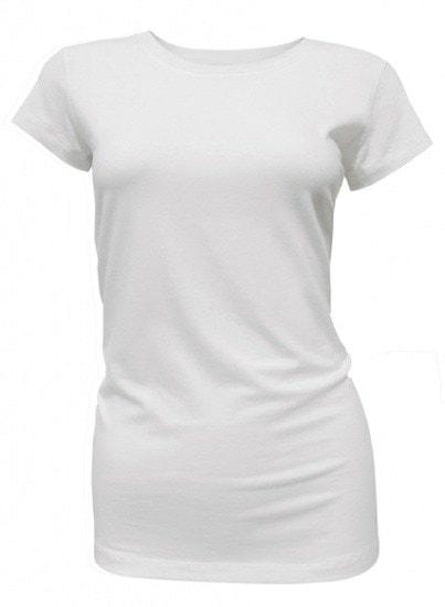 Bamboe dames t-shirt wit
