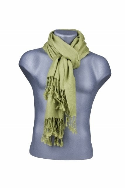 Bamboe sjaal groen