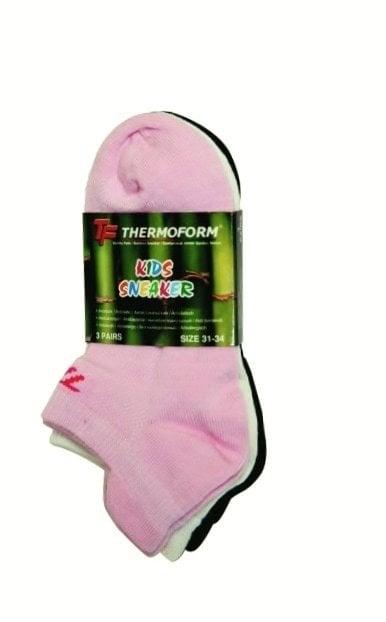 Bamboe sneaker sokken 3 paar - TF4