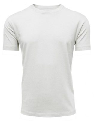 Bamboe heren t-shirt wit