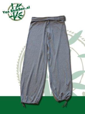 Bamboe harem broek grijs Relax - 6020