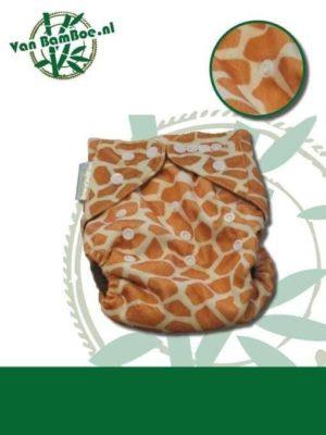 Bamboe luier - giraffe