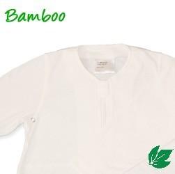 Bamboe baby zomerslaapzak - off white S