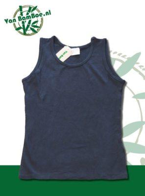 Bamboe dames hemd/singlet - zwart