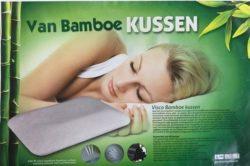 Bamboe ergonomisch hoofdkussen - 01