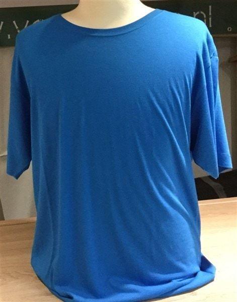 Bamboe heren t-shirt elec.blue