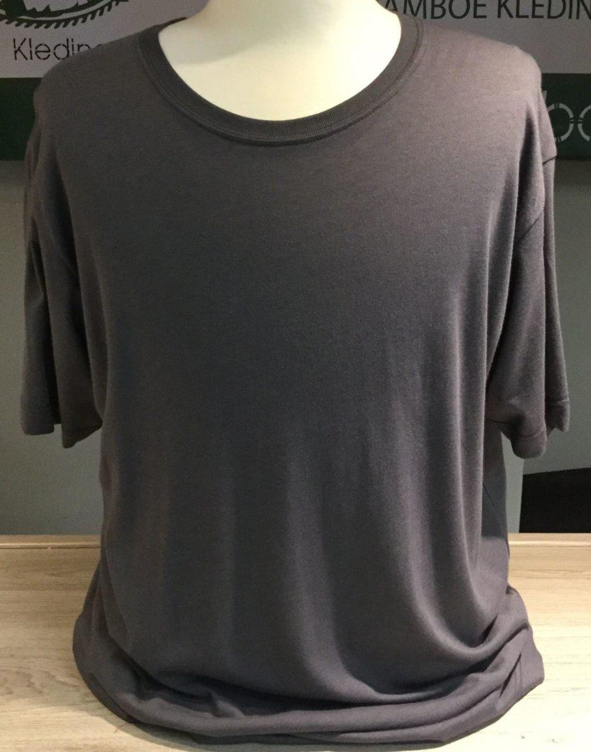 Bamboe heren t-shirt antraciet