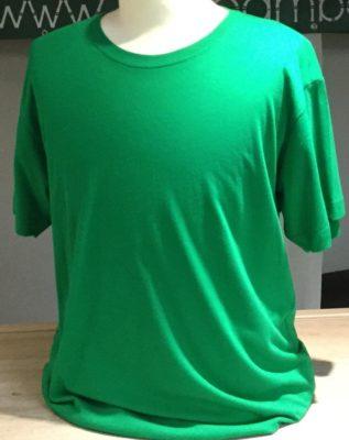 Bamboe heren t-shirt tropical groen