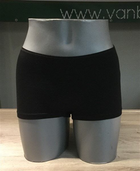 Bamboe dames boxer - zwart