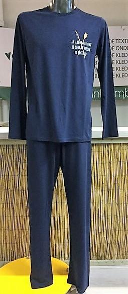 Bamboe heren pyjama - arrow