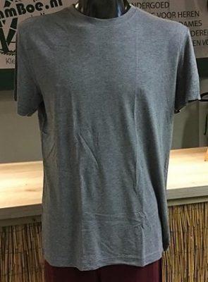 Bamboe heren t-shirt grijs