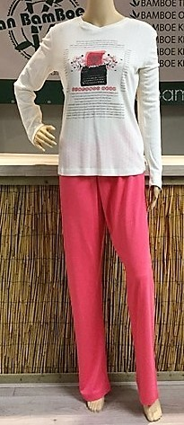 Bamboe huispak / pyjama type