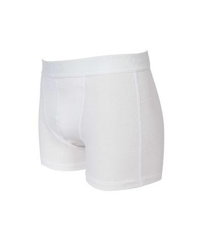 Bamboe boxershort wit -326