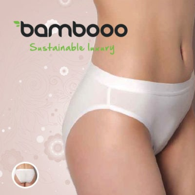 Bamboe slip Fully wit -359