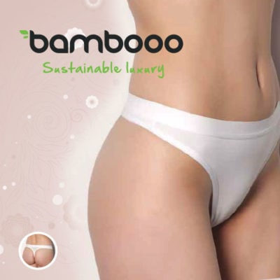 Bambooo string LouLou wit