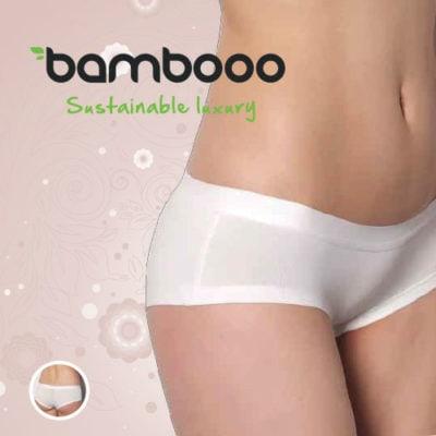 Bamboe heupslip Sally wit -380