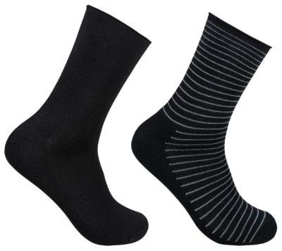 Diabetes sokken / niet knellende boord van bamboe