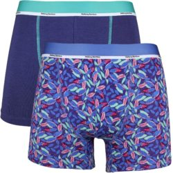 Heren bamboe boxershorts 2-pack Leave