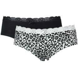 Dames bamboe hipster 2-pack
